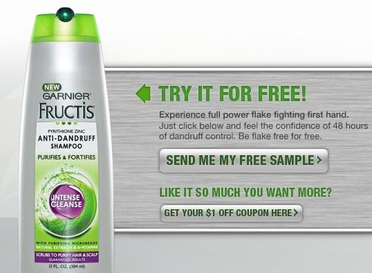 Dandruff shampoo coupons
